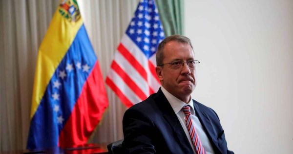 US names first ambassador in a decade to Venezuela, but he will operate from Bogotá