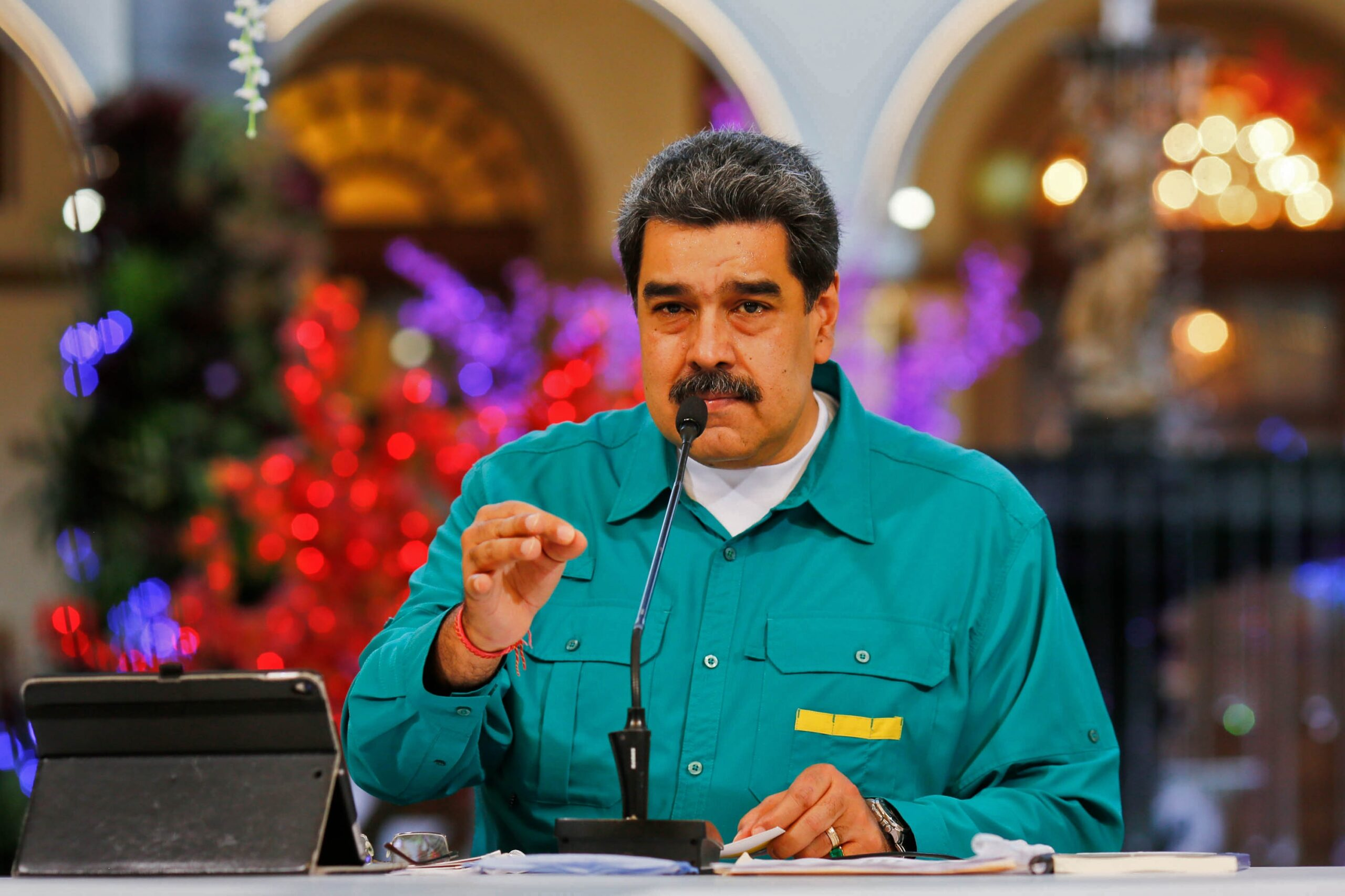 Venezuelan President Blames Rival for Trump's Apparent Election Defeat