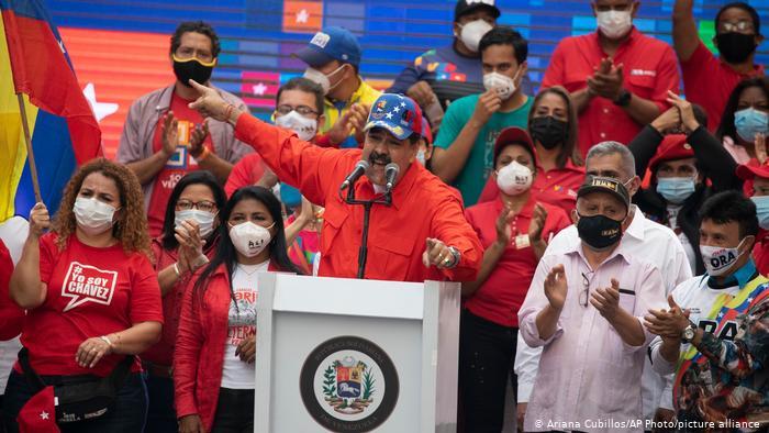 Maduro has actively campaigned, despite the coronavirus pandemic