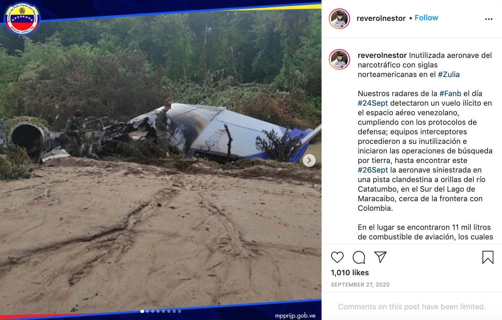 Flying High: The US Connection to Venezuela's 'Narco-Planes' – bellingcat