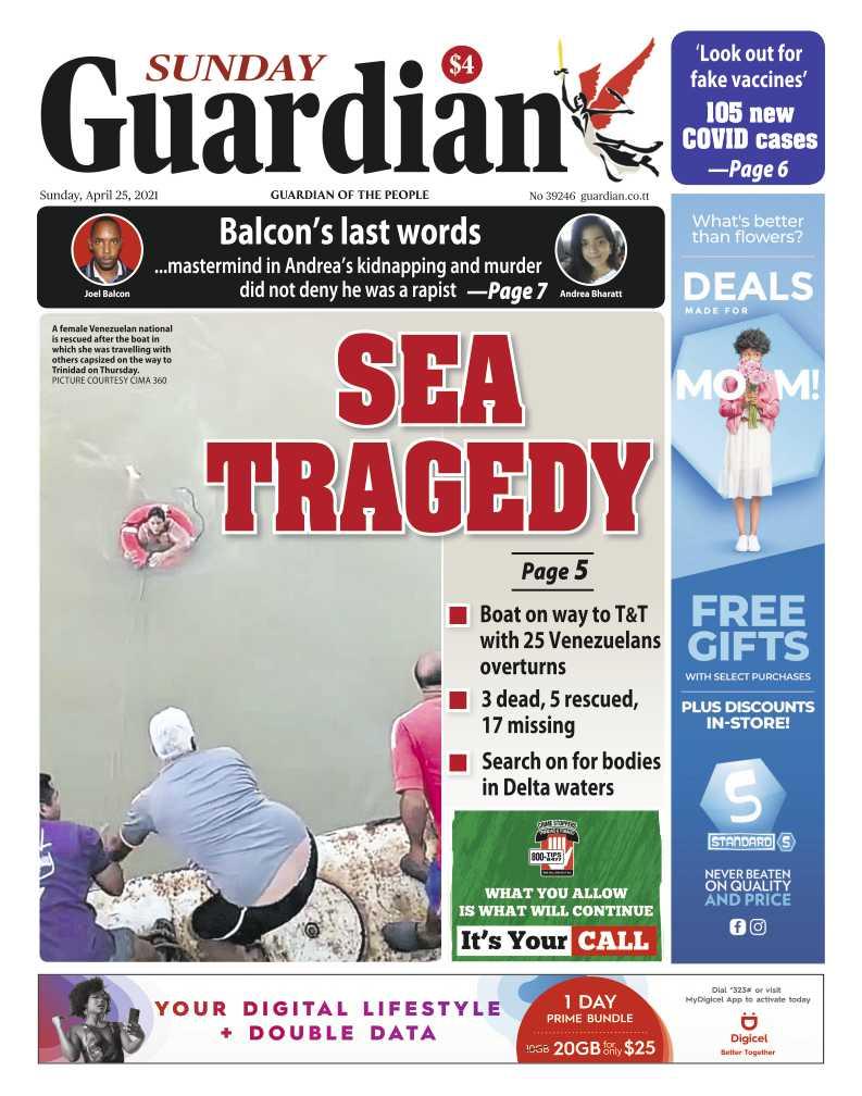 Boat with 25 Venezuelans capsizes