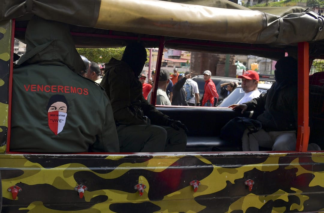 A Glut of Arms: Curbing the Threat to Venezuela from Violent Groups
