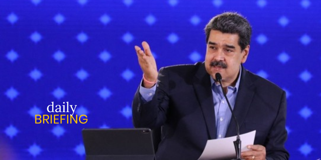 """Maduro: """"You Want To Negotiate? These Are My Conditions"""" 