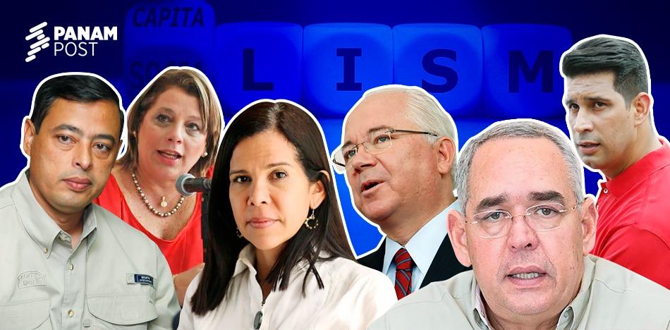 Seis chavistas que dejaron el socialismo para exiliarse en el capitalismo