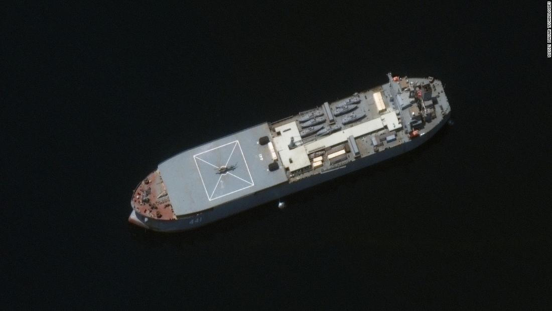 US tracking Iranian ships that may be headed into the Atlantic and for Venezuela
