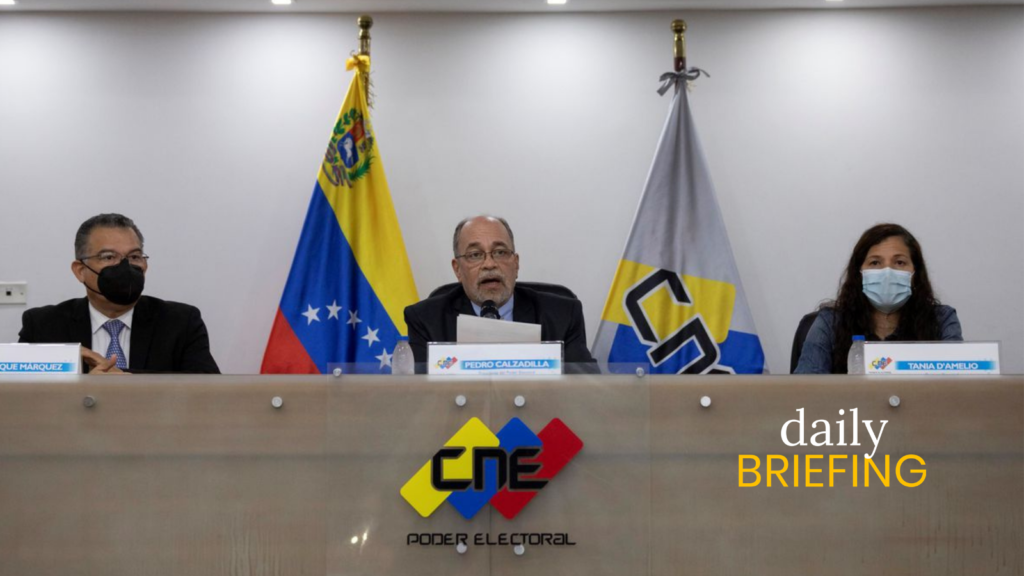 The CNE Opened An Investigation Against VTV   Caracas Chronicles