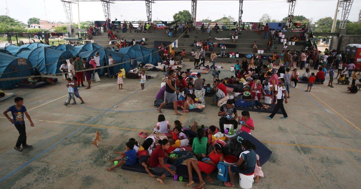 Los venezolanos, la segunda población de desplazados más grande del mundo