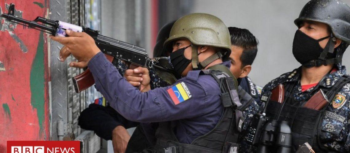 Venezuela: Battles between police and gangs in Caracas leave 26 dead