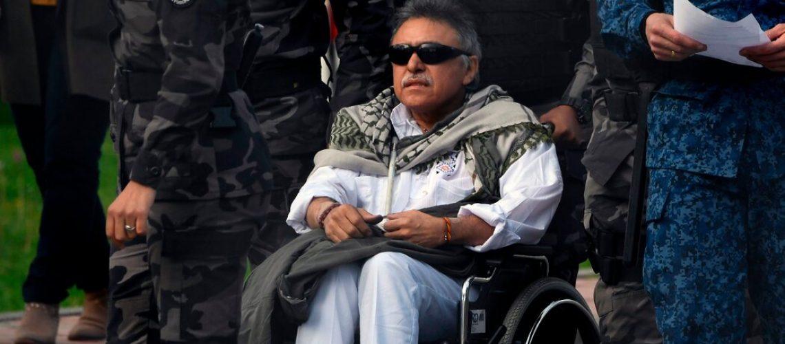 Colombia Rebel Commander 'Jesús Santrich' Killed, Venezuelan Officials Say