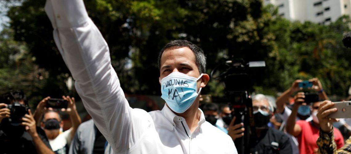 Venezuelan opposition head proposes lifting U.S. sanctions progressively