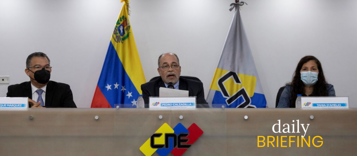 The CNE Opened An Investigation Against VTV | Caracas Chronicles